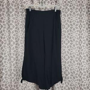 Rewash Beach Yogi Culottes Pants Black